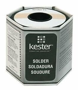 Kester24 6337 6403 331 Lead Solder Wire 361 F Melting Point 0 031 In Wire