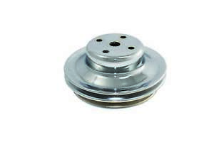 Specialty Chrome 8960 Bbc Chrome 2 Groove V belt Water Pump Pulley