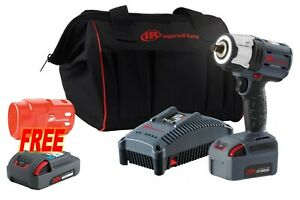 Ingersoll Rand W5152 k12 Iqv20 1 2 Compact Impact Wrench Kit 1 Battery