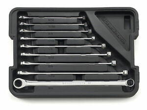closeout Gearwrench 85998 9 Piece Xl Gearbox Sae Ratcheting Wrench Set
