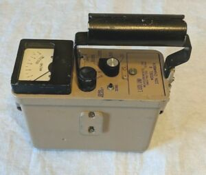 Ludlum Model 9 Ion Chamber Radiation Survey Meter free Shipping Usa
