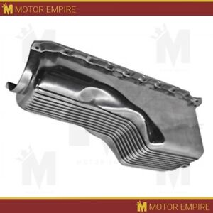 Cfr For 1965 90 Chevy Bb 396 402 427 454 Gen 4 4 Qts Oil Pan Polished Aluminum