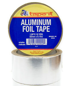 24 Rls Aluminum Tape 1 89 X 10 Yards Hvac Duct Al10
