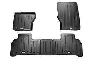 Land Rover Discovery 5 2017 Interior Rubber Mat Set genuine Parts