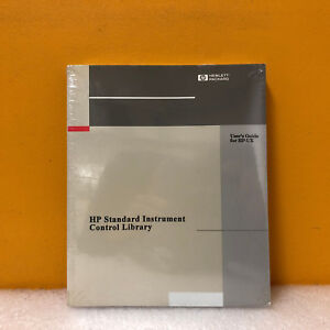 Hp Agilent E2091 90001 Standard Instrument Control Library User s Guide Hp ux