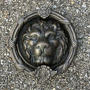 Mgm Studios Bronze Reproduction Lion Head Mansion Door Knocker