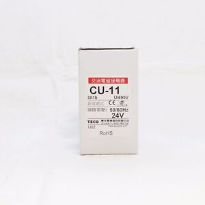 Teco Cu 11 Magnetic Contactor 24v Coil 3a1b N c replaces Taian Cn 11