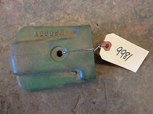 John Deere 435 420 430 1010 Hydraulic Outlet Valve Guard M2636t