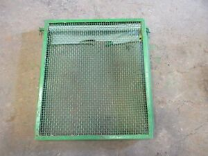 John Deere Unstyled A B Radiator Screen Guard 18 5 X 19 Inches