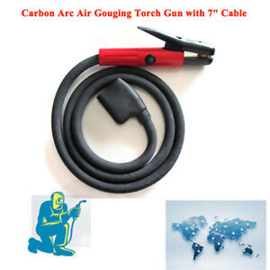 New Arcair K3000 In Box 600 Amp Carbon Arc Air Gouging Torch Gun With 7 Cable