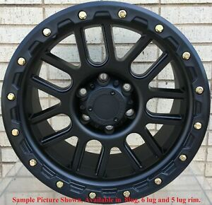 4 New 17 Wheels Rims For Nissan Armada Frontier Titan Pathfinder Xterra 636
