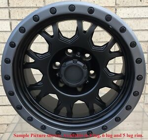 4 New 20 Wheels Rims For Dodge Ram 2500 3500 8 Lug Rim 138