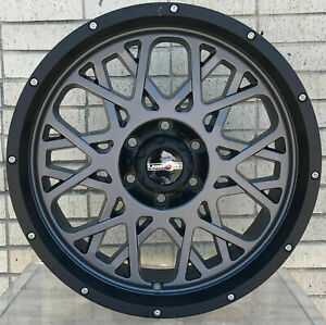 4 New 20 Wheels Rims For Ford F 350 2015 2016 2017 2018 Super Duty 1011