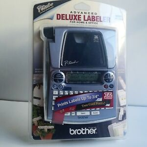 Brother P touch Advanced Deluxe Labeler Model Pt 1880 Label Maker brand New