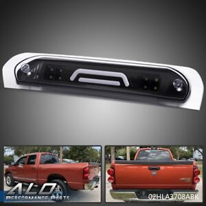 For 2002 2009 Dodge Ram Black 3d Led Bar 3rd Tail Third Brake Light Cargo Lamp