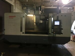 2006 Large Cnc Monarch 6032 Vmc Vertical Machining Center Under Power Video