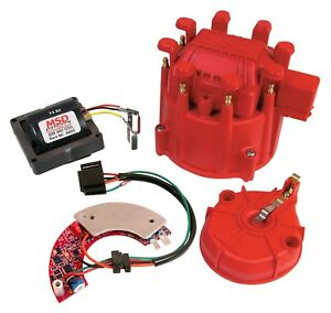 Msd 8501 Ignition Conversion Kit With Distributor Cap rotor Universal Fitment