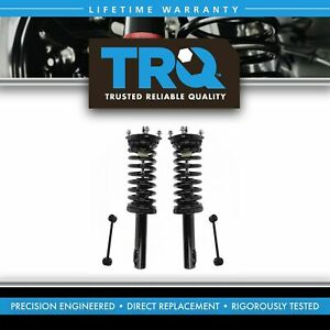 Trq Front Suspension Kit Strut Spring Assemblies With Sway Links For Jeep New