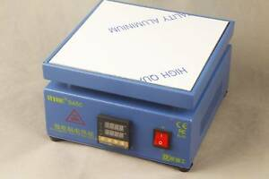 Heat Electronic Plate Preheating Station 946c 800w 110v 200x200mm Plate