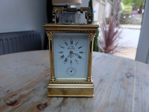 L Epee 8 Day Repeater Carriage Clock Vintage 1970 S Original