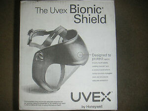 Uvex By Honeywell Faceshield Clear Antyfog Polycarbonate Visor