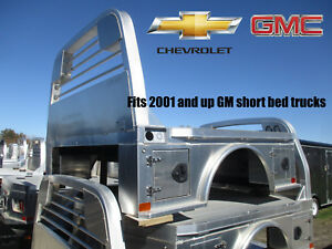 Gm Chevy Gmc Short Bed Cm Aluminum Flatbed Body Alsk2 42 Ca 42 R 219395
