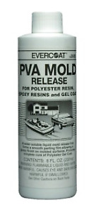 Evercoat 5685 Pva Mold Release 8 Oz Liquid Evercoat 5685
