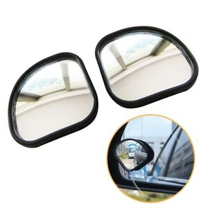 2pcs Adjustable Car Auto Wide Angle Side Rearview Blind Spot Mirror Universal
