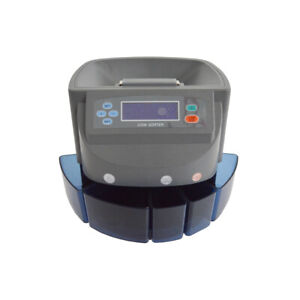 Dollar Coins Automatic Commercial Electronic Coin Counter Sorter Pennies Machine