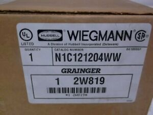 Hubbell Wiegmann N1c121204ww Enclosure 12x12x4 New In Box