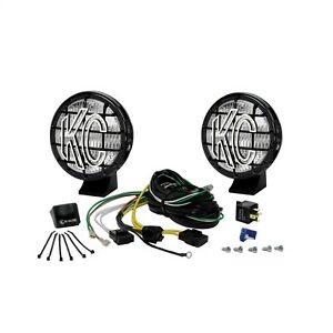 Kc Hilites 452 Fog Light Kit For Offroad And Racing Clear Lens Black Housing