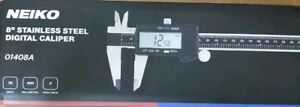Neiko 01408a Electronic Digital Caliper With Extra Large Lcd Screen 0 8