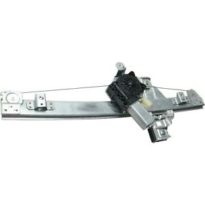 New Window Regulator Glass Rear Driver Left Side With Motor Chevy Lh Hand Cruze