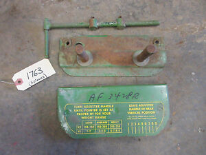 John Deere 520 530 620 630 720 730 820 830 Float Ride Seat Nos Parts Kit