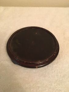 Wood Display Base Plateau For Vase Or Figure Oval And Round Stand 4 1 2
