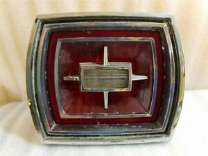 Tail Light Assembly W reverse Lamp Vintage Fits 66 Ford Galaxie 13972