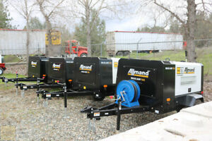 2021 New Allmand Max air 185cfm Towable Air Compressor