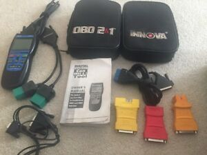 Innova 3120 Diagnostic Scan Tool Code Reader For Obd1 And Obd2 Vehicles