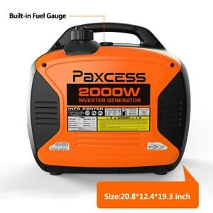 2000w Portable Generator Rv Ready Inverter Parallel Capability Eco Mode Carb