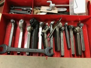 Williams Armstrong Lathe Turning Tool Holder Set South Bend Atlas Logan Clausing