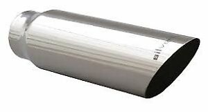 Silverline Tk4018s25 Stainless Steel Exhaust Tip With Polished Finish