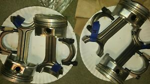 Mazda Mazdspeed Protege 5 2 0l Fs De Turbo Arias Pistons And Pauter Rods 8 5 1