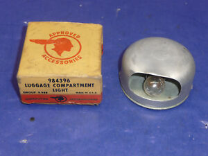 Nos Gm Luggage Trunk Compartment Light Sct6