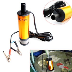 Diesel Fuel Water Oil Car Electric Pump Transfer Submersible Pump 12 L Min Handy