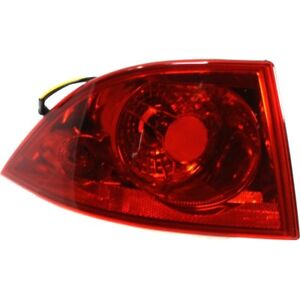 Left Outer Tail Lamp For 2006 2011 Buick Lucerne