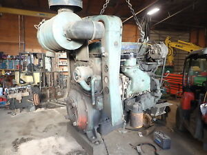 Detroit Diesel 453 Engine Runs Exc Video 4 53 Industrial Grove Crane Gm