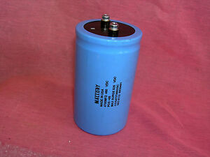4700uf 450v 4700 Uf Mallory Electrolic Capacitors Lot Of Two Type Cgs