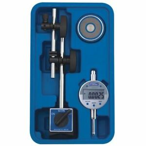 Fowler Fine Adjustment Magnetic Base With Indi xblue Electronic Indicator