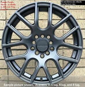4 New 17 Wheels For Audi A3 A6 A8 S6 2007 2008 2009 2010 2011 2012 Rims 5205