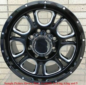 4 New 17 Wheels Rims For Acura Slx Hummer H3 Cadillac Escalade 629